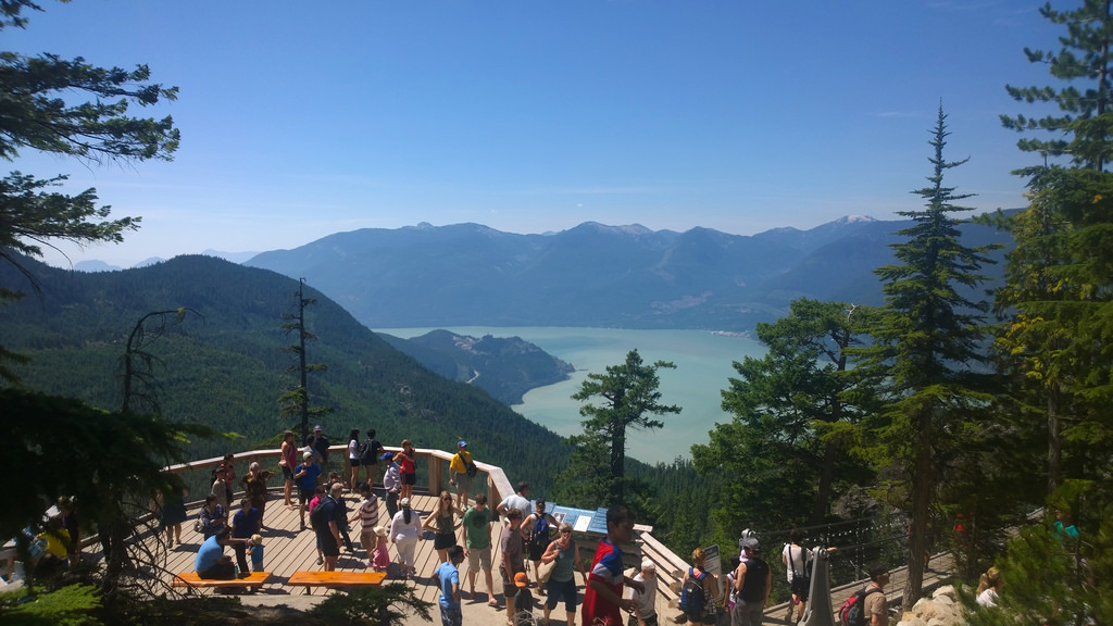 Views from the Sea to Sky Gondola
