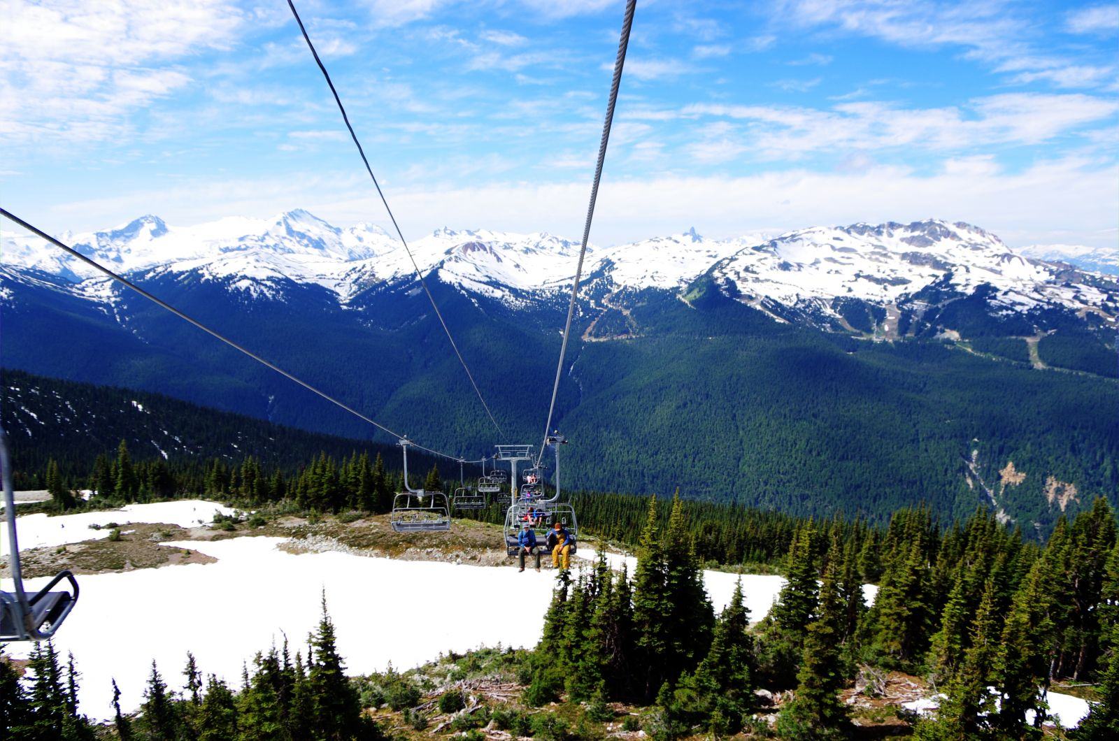 7th Heaven Chair on Blackcomb in the summer