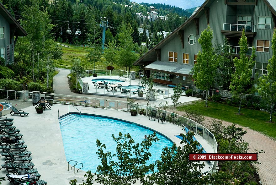 Aspens on Blackcomb Outdoor Pool