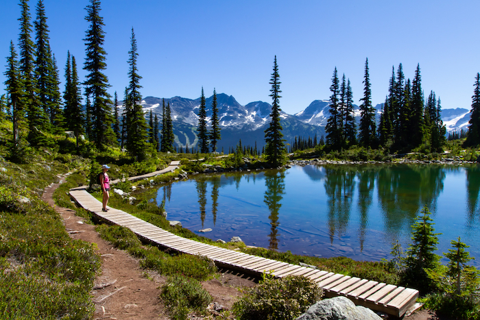 Summer hiking in Whistler