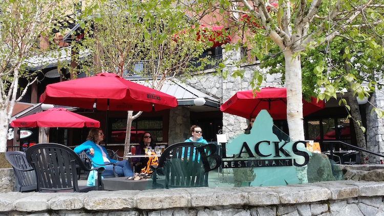 Blacks Restaurant in Whistler