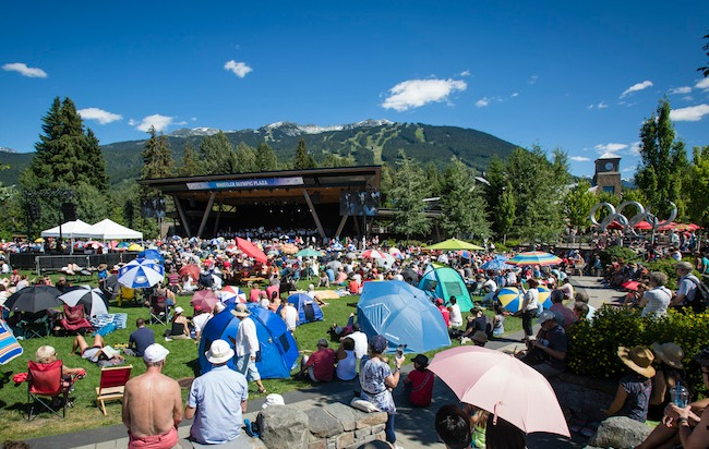 VSO Performance for Whistler Canada Day