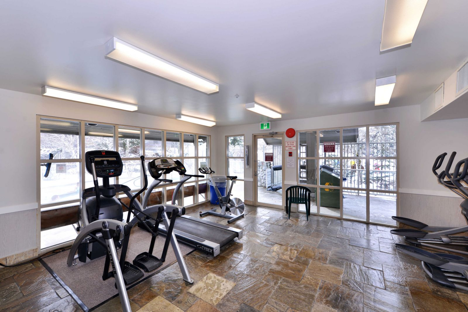 Aspens Lodge workout facility