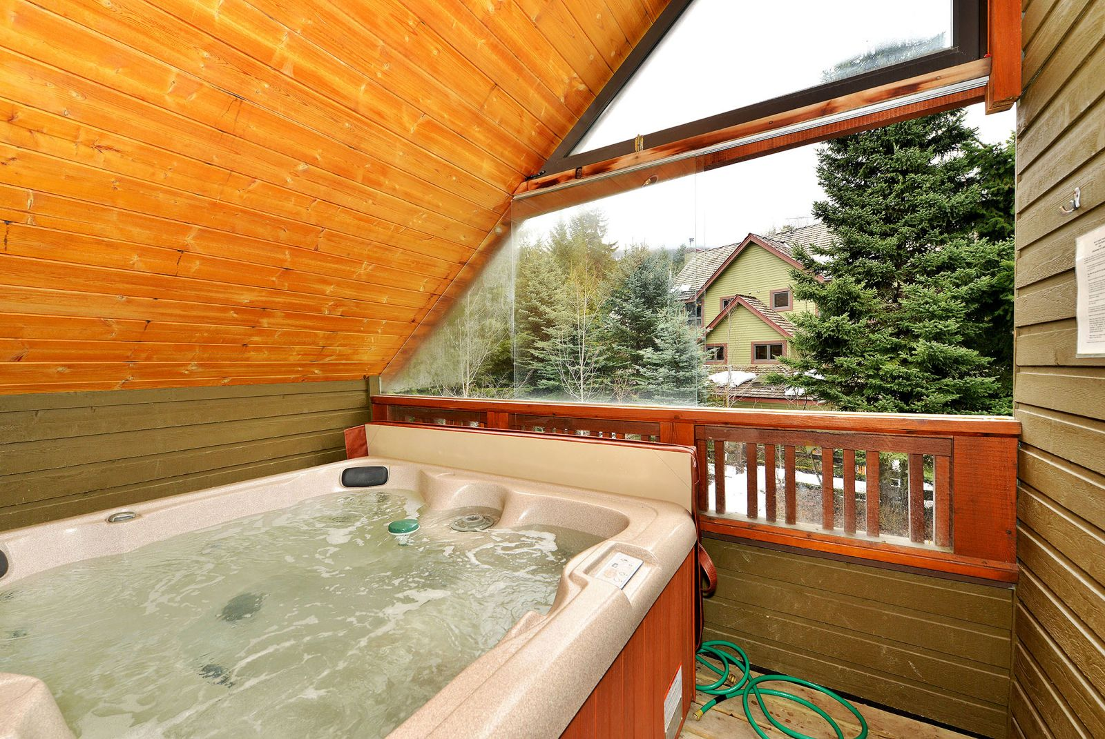 Cedar hollow #8 hot tub