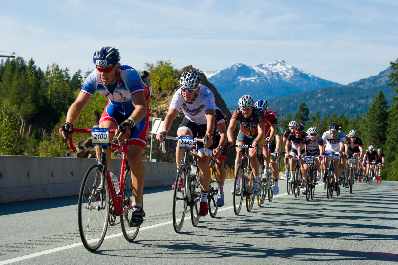RBC Granfondo bike route: Vancouver to Whistler
