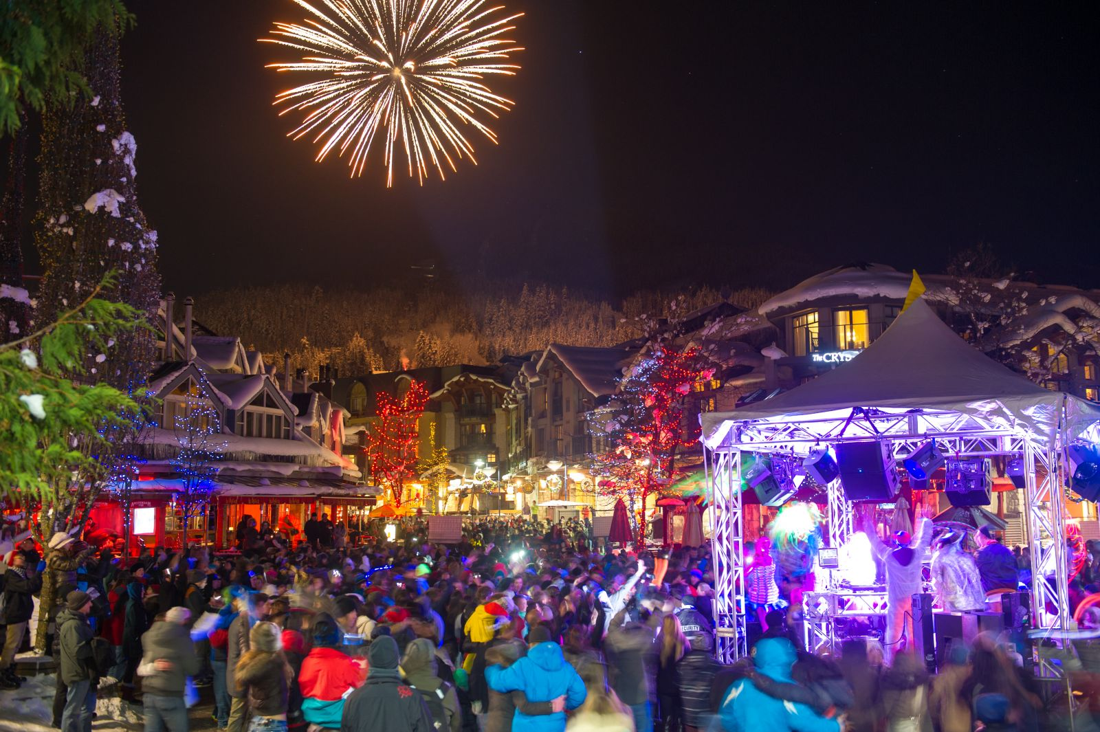 Whistler New Year's Eve fireworks