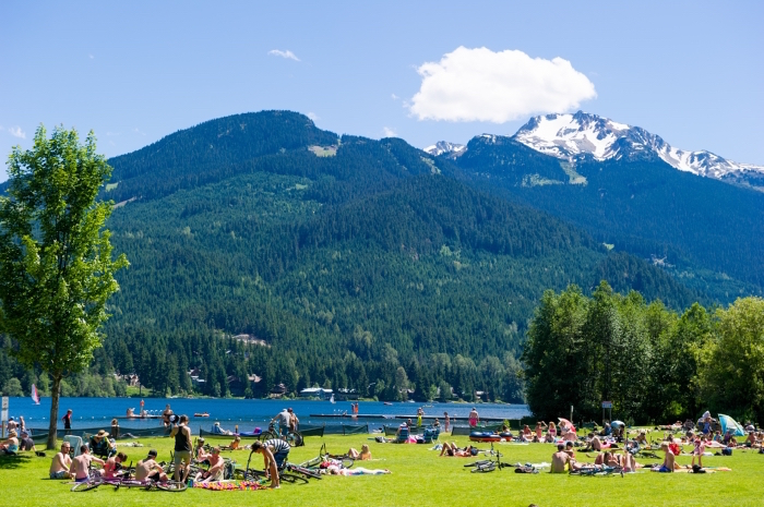 Rainbow Park at Alta Lake in Whistler