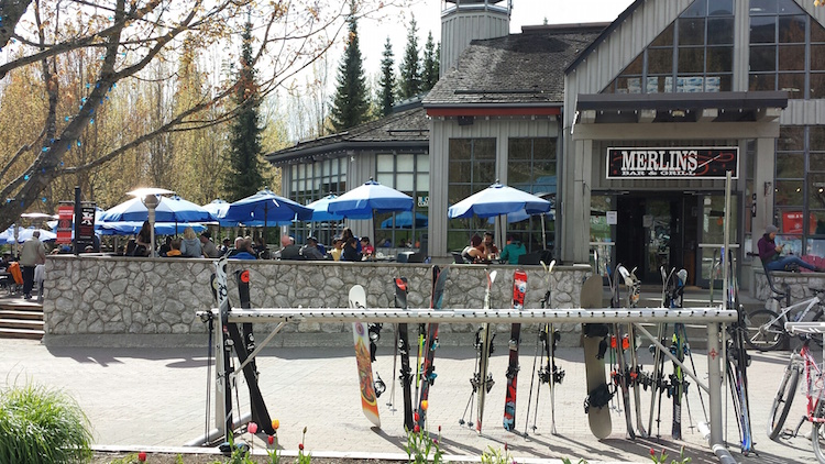 Merlin's Pub at the base of Blackcomb