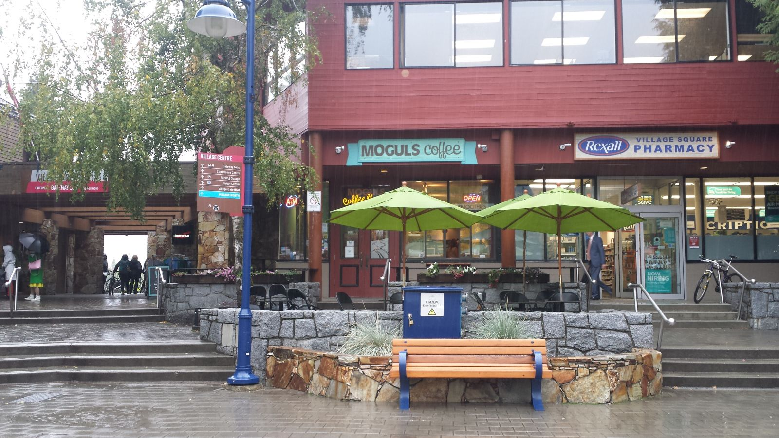 Mogul's Coffee House in Whistler Village