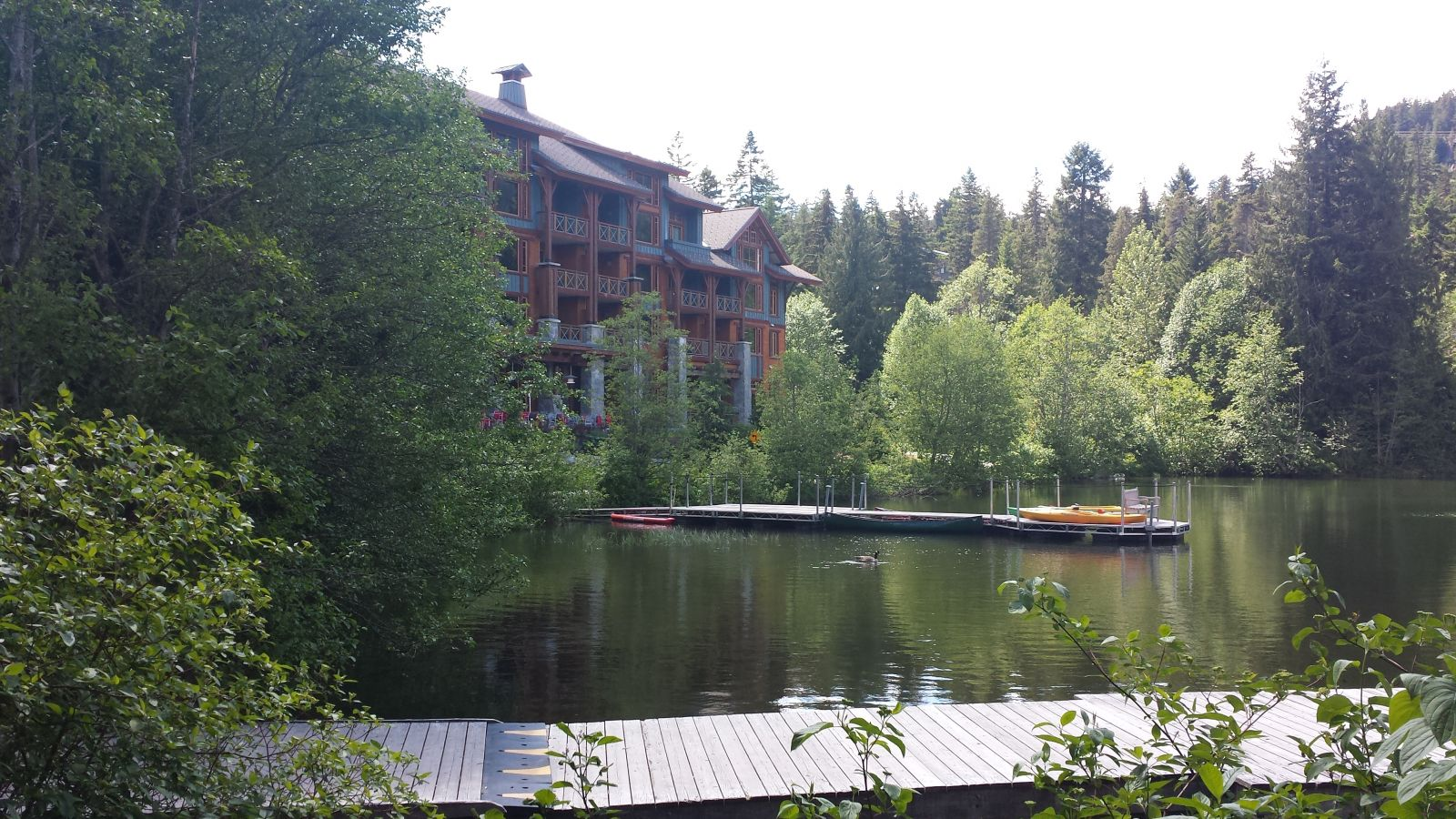 Nita Lake in Whistler