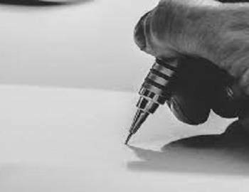 just grab a pen and start drawing