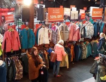 Winter shopping Whistler
