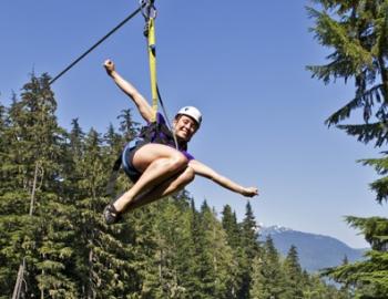 Whistler Zip line tours through Ziptrek