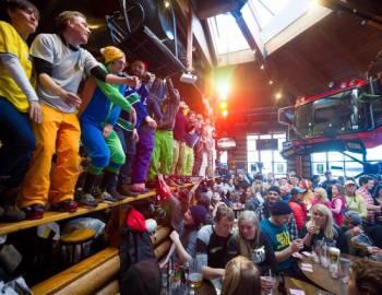 Upper Whistler Village Apres Ski