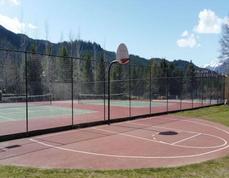 Alpha Lake Park tennis courts