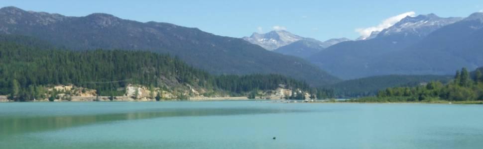 Green Lake in Whistler