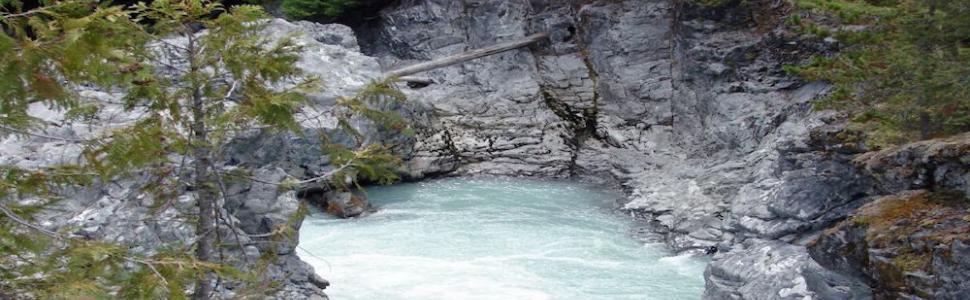 Nairn Falls outside of Whistler