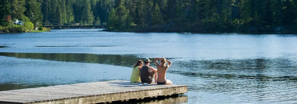 Alpha Lake Park in Whistler