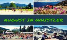 August Events in Whistler