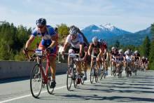 Whistler biking in September