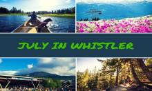 July in Whistler