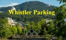 Whistler parking